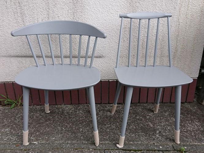 修理完了した椅子