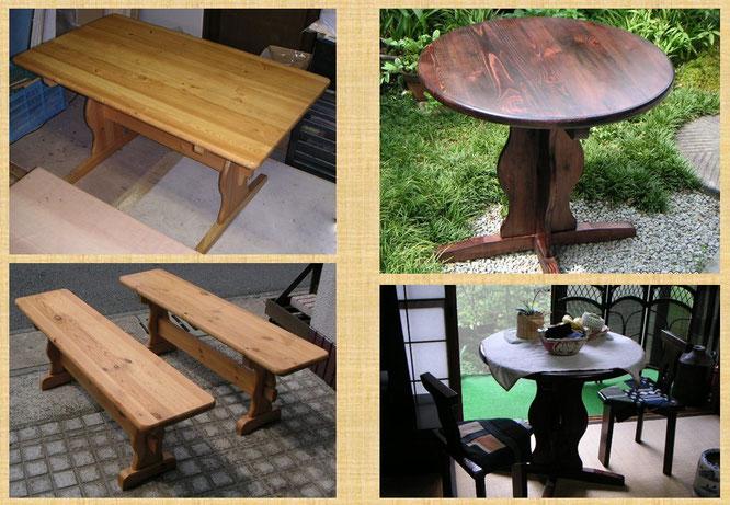 テーブル&椅子リメイク
