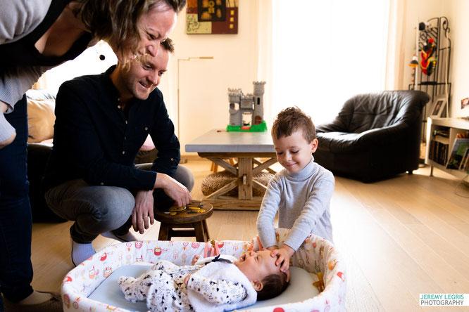 Photo de famille Lifestyle - Jérémy Legris Photographe - Grenoble