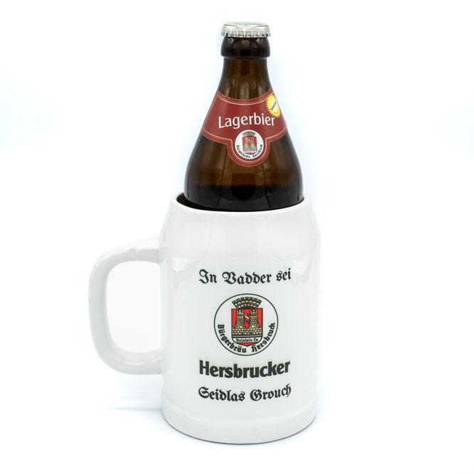 Der Hersbrucker Seidlas Grouch  mit altdeutscher Schrift