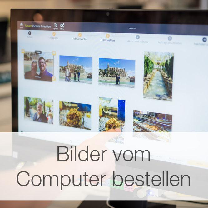 Bilder vom Computer bestellen