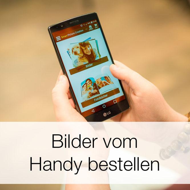 Bilder vom Handy bestellen
