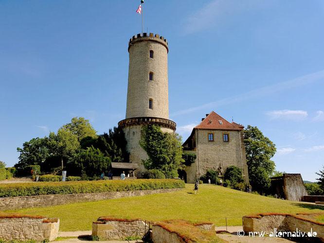 Dies ist ein Bild der Sparrenburg in Bielefeld.