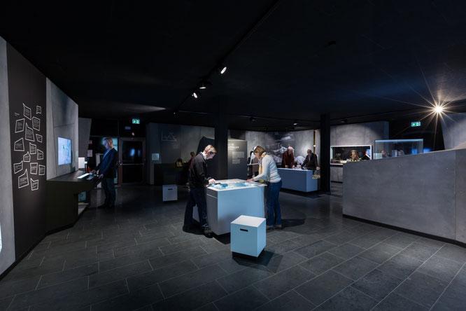 Einblick in den Ausstellungsraum der Westfälischen Salzwelten.