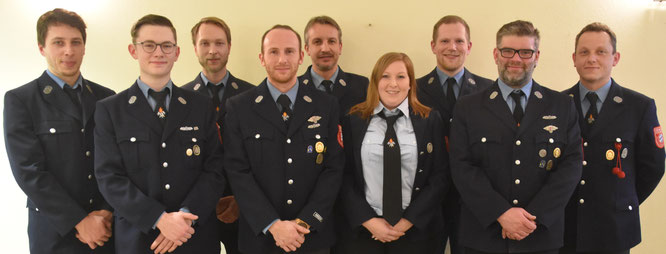 Der Vorstand der Freiwilligen Feuerwehr Zell e.V.