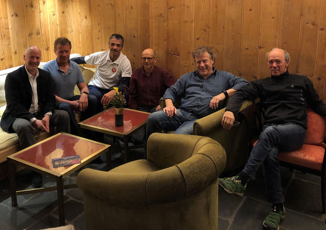 vlnr: Räto, Martin, Louis, Jürg, Jörg, Pablo