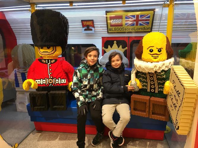 Alessio e Andrea a Londra