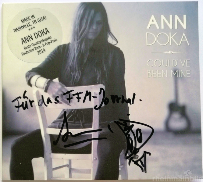 """Ann Doka EP-Cover """"Could´ve been mine"""" © Klaus Leitzbach/frankfurtphoto"""