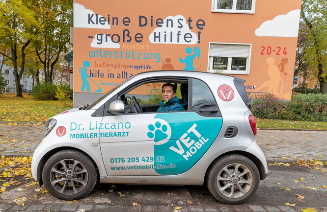 Einsatzfahrzeug © Friedhelm Herr/frankfurtphoto