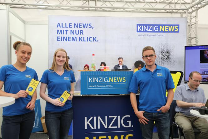 Neues Online-Nachrichtenportal KINZIG.NEWS geht in Betrieb © Klaus Leitzbach/FRANKFURT DOKU