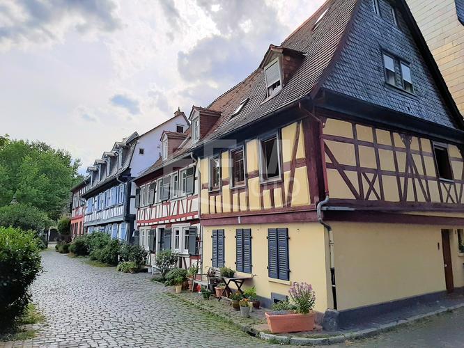 Fachwerkhäuser in der Höchster Altstadt © fmedien.net/Klaus Leitzbach