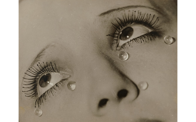 マン・レイ「涙」(1932年)