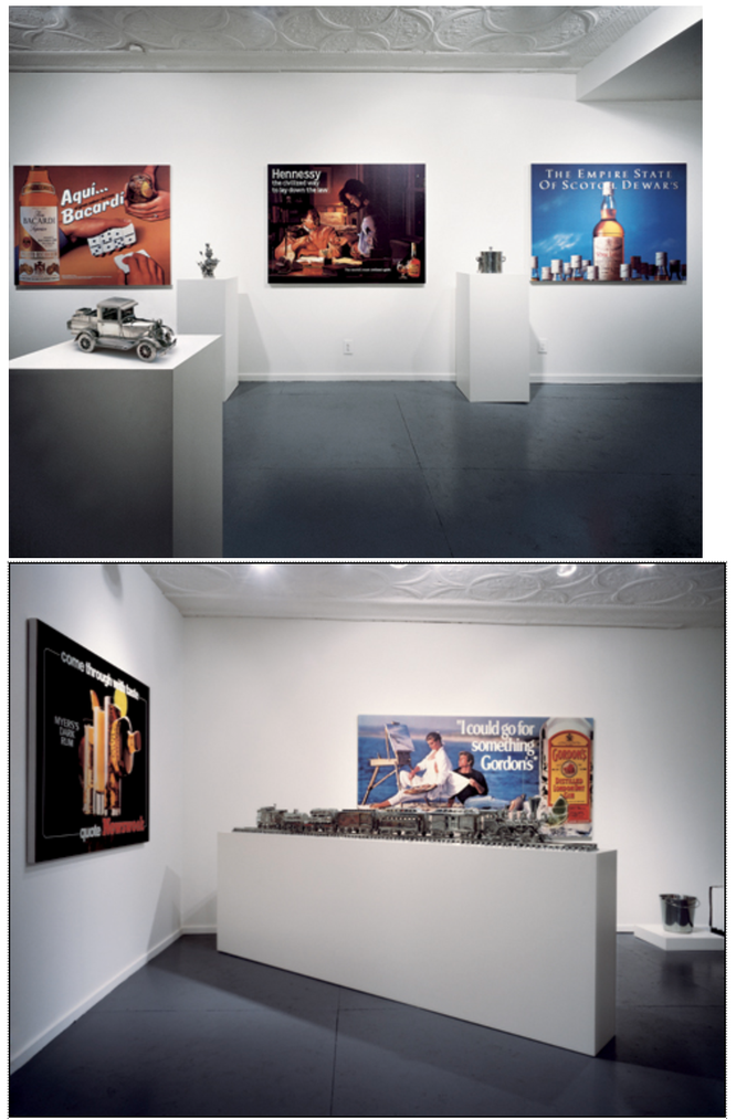 ※7:Luxury and Degradation International With Monument Gallery, New York, New York [closed October 12, 1986]