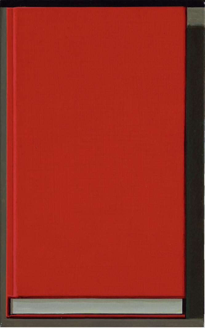 リュウ・イ《Book Painting No.17》2017年,David Zwirnerより
