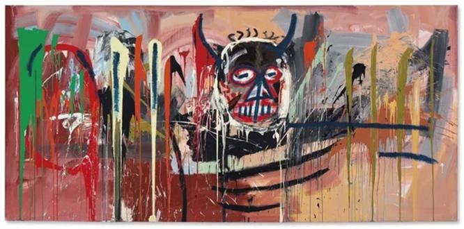 ジャン=ミシェル・バスキア《Untitled》 1982年 5730万ドル