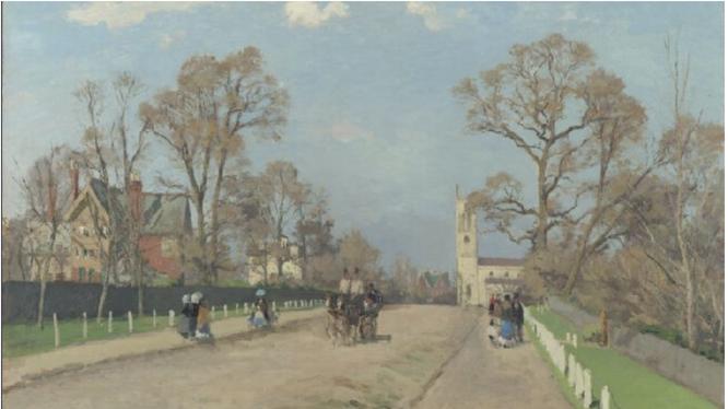 《シドノム通り》1871年