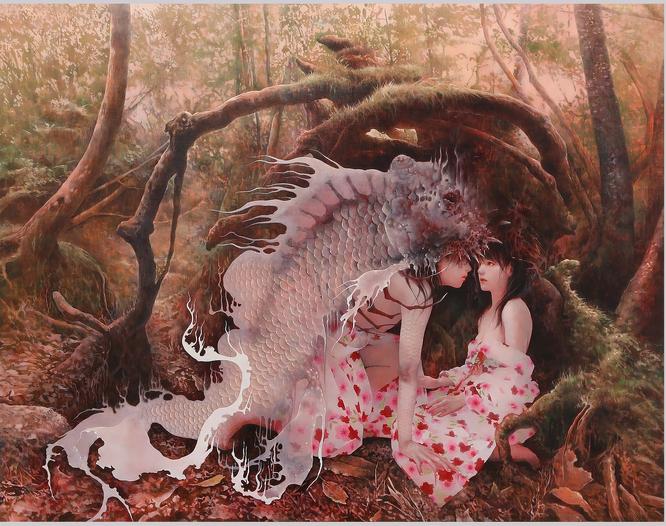 篠原愛「森の中」(2016年)
