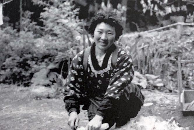 奈良の母。1955年