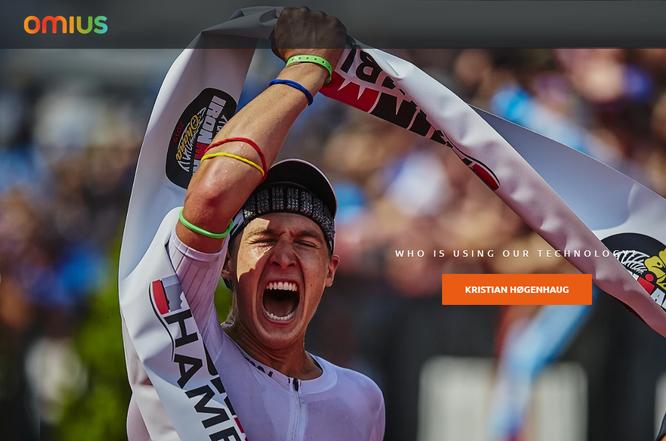 Kʀɪꜱᴛɪᴀɴ Høɢᴇɴʜᴀᴜɢ, Triatleta Ironman campeón mundial, utiliza la banda Omius