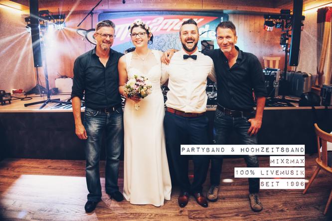 Hochzeitsband in Augsburg, Donauwörth, Nördlingen und Straubing