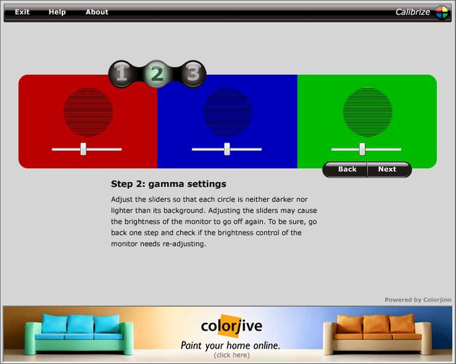色の調整(キャリブレーション方法5)