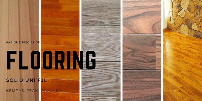 材木屋 無垢材フローリング