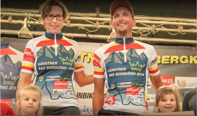 Astrid Lamprecht und Johnny Hoogerland die Sieger beim Kärntner Radbergkönig 2019