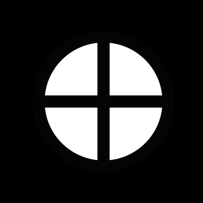 『薔薇と十字架』アンドロギュヌスのシンボル
