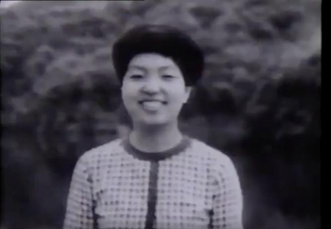 蛭子前夫人の鶴田貴美子さん。「タモリ倶楽部」よりキャプチャ。