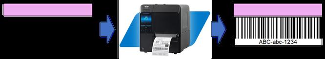 Etikettierung von Sterilisationsetiketten / Indikatoretiketten mit Hilfe eines Thermodruckers