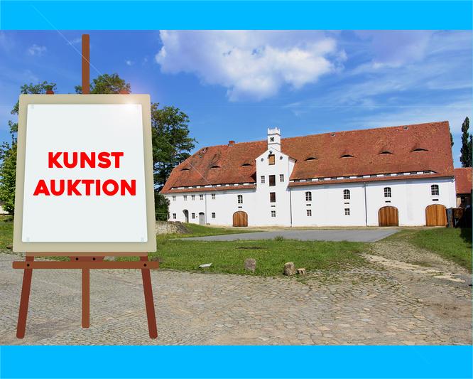 Zinzendorf-Schloss in Berthelsdorf mit Kulturspeicher © A. Taesler / Montage: zittau-online
