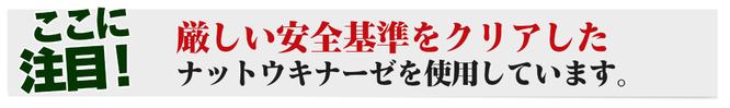 日本ナットウキナーゼ協会認定品です