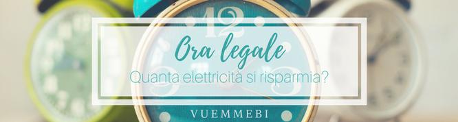 Ora legale, risparmio elettricità, impianti cagliari