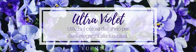 Ultra Violet, Pantone, colore dell'anno 2018, interior design cagliari, impianti cagliari