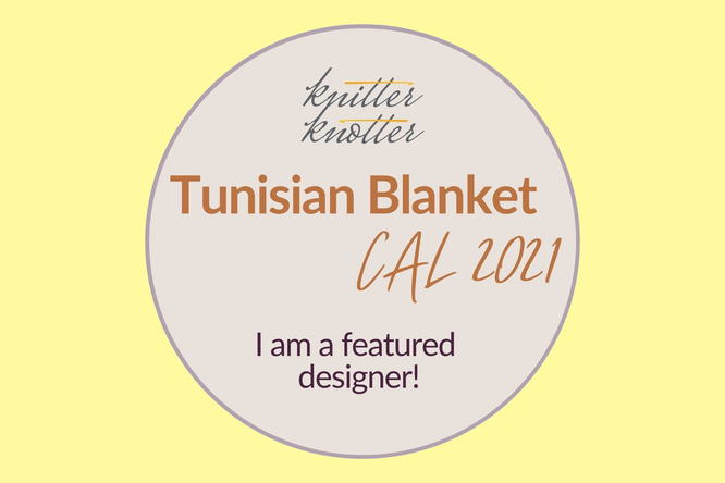 Tunisian Blanket Crochet Along 2021 featured designer Häkelreigen