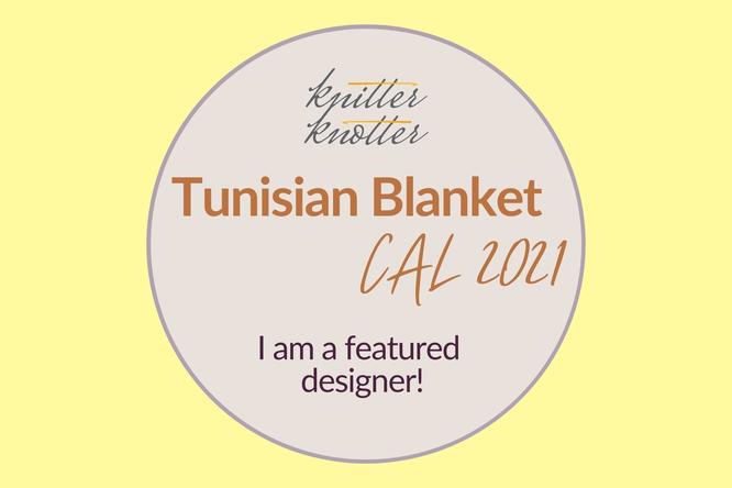 Tunisian Blanket Crochet Along 2021 featured designer Häkelreigen