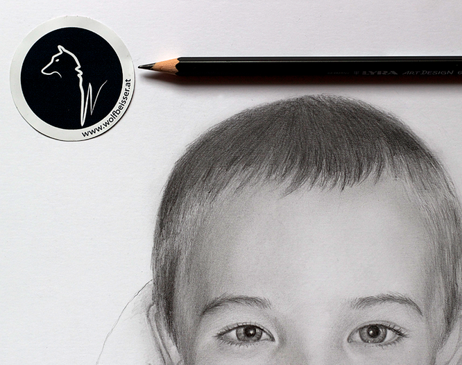 """""""Making of"""" Kinderporträt Teil 2"""