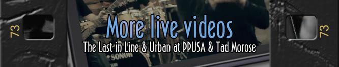 More live videos