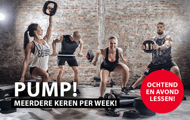 Body Pump lessen in Bunschoten bij Loods of Fitness Bunschoten Spakenburg