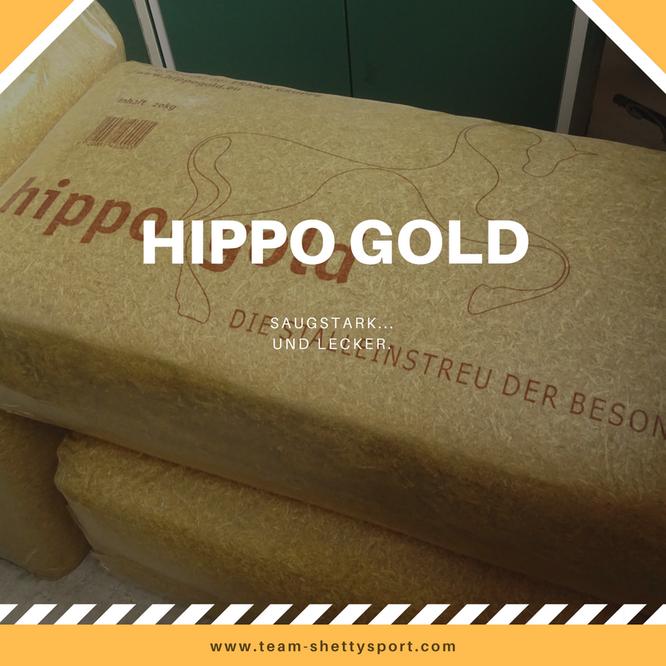 Hipp Gold Offenstall Einstreu