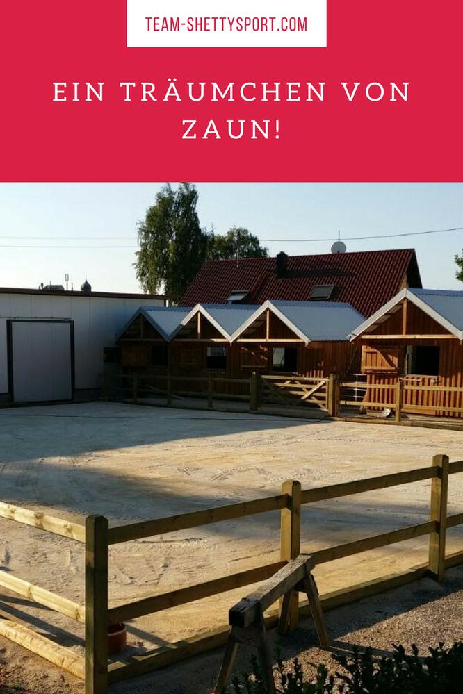 Reitplatz Zaun Skandwood