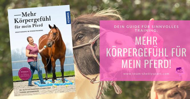 Mehr Körpergefühl für mein Pferd! Ergotherapie im Pferdetraining. Dein Guide für SINNvolles Training: So wird Dein Pferd zum Bewegungskünstler.