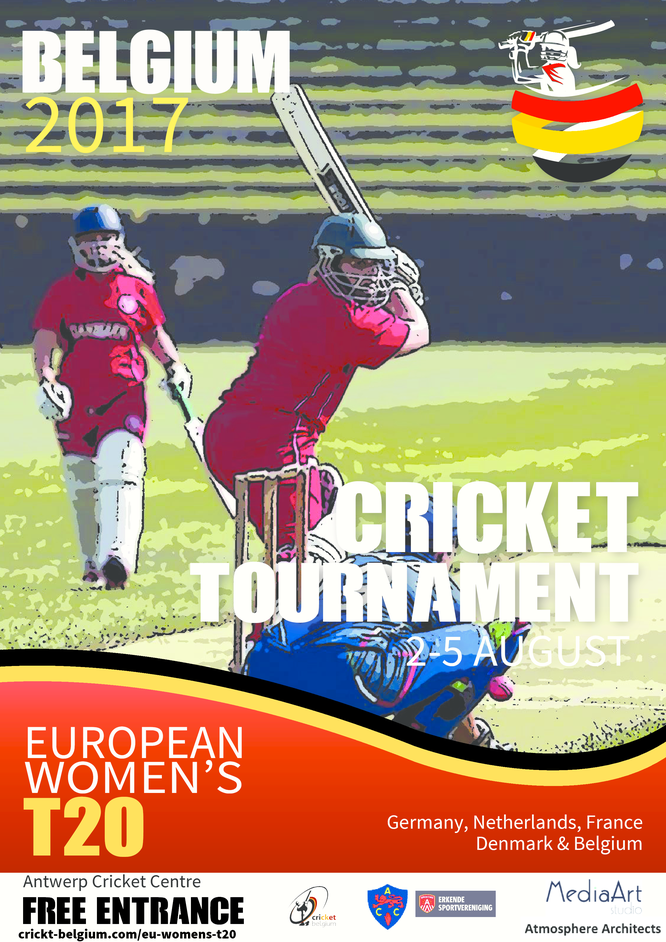 European Women's T20 Cricket Tournament (Anwterp, 2-5 August 2017)