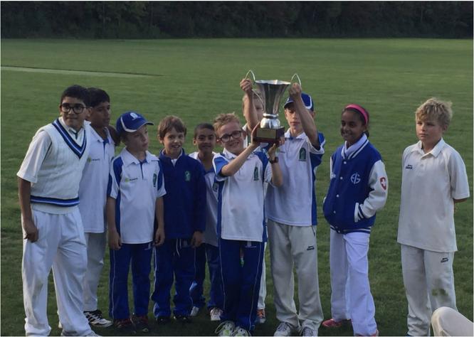 The winning Zürich team