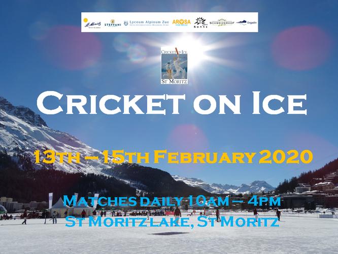 Cricket on Ice 2019 (14-16.2.2018)