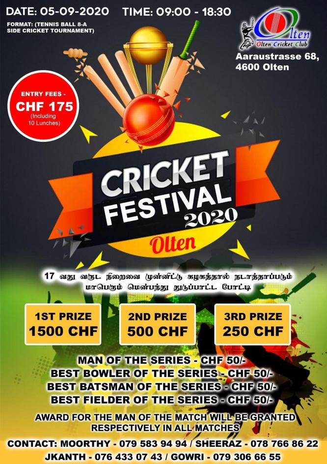 Olten Cricket Festival