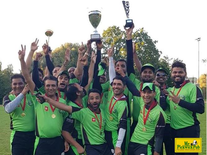 St Gallen Cricket Club, 2018 Mr Pickwick Twenyt20 Champions