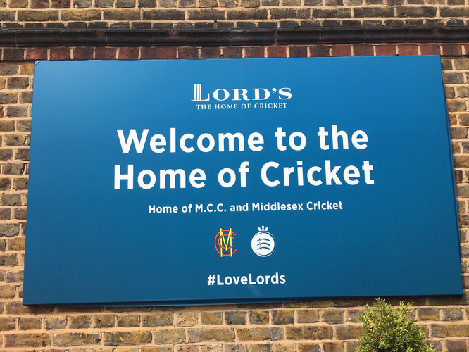 #CWC19 - Welcome to Lord's - #LoveLords