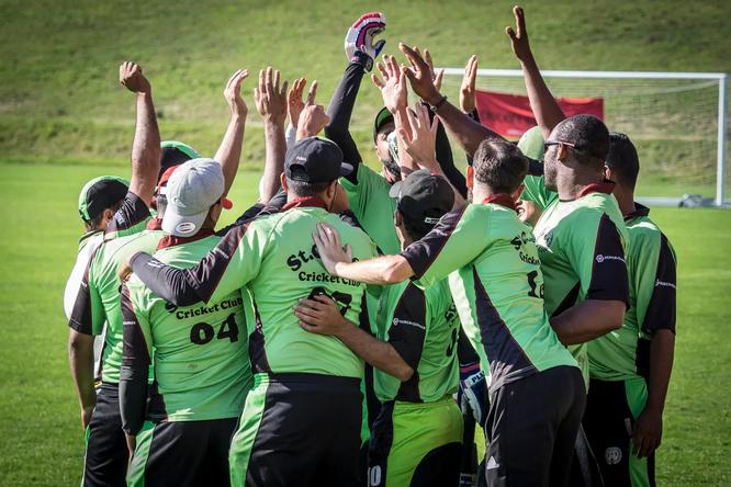 Die St.Galler gewannen 2018 gegen Olten den Titel (Bild: Hanspeter Schiess)