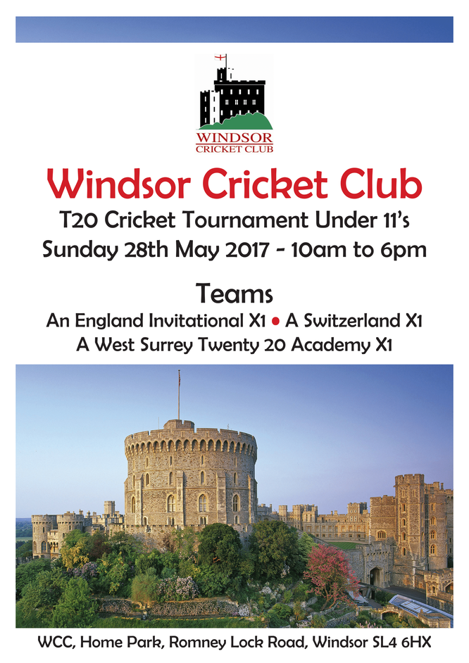 Windsor CC U11 T20 Cricket Tournament